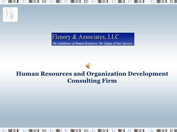 Human Resources and Organization Development Consulting Firm
