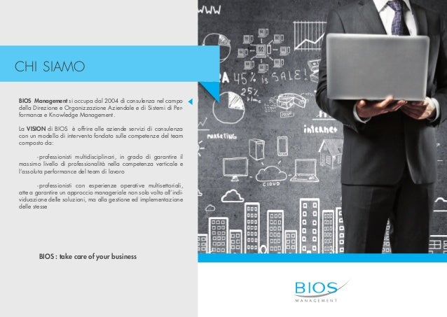 Bios Management - Corporate Profile Slide 2