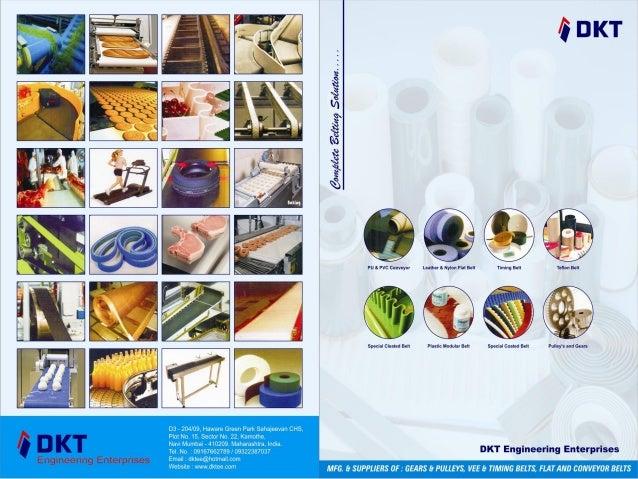 Conveyor & Sandwich Belts By DKT Engineering Enterprises