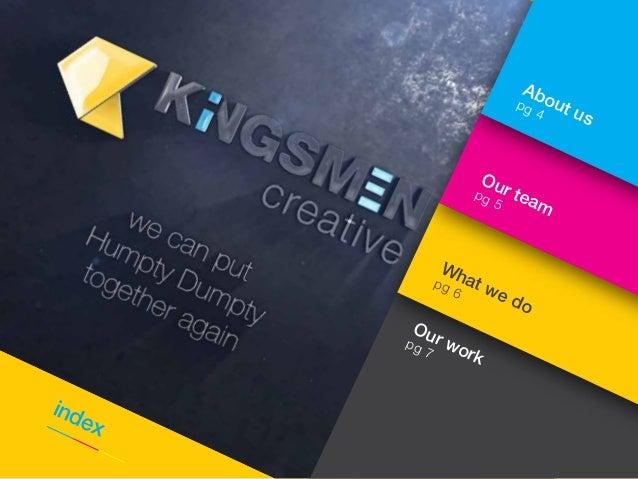 kingsmen creative company profile