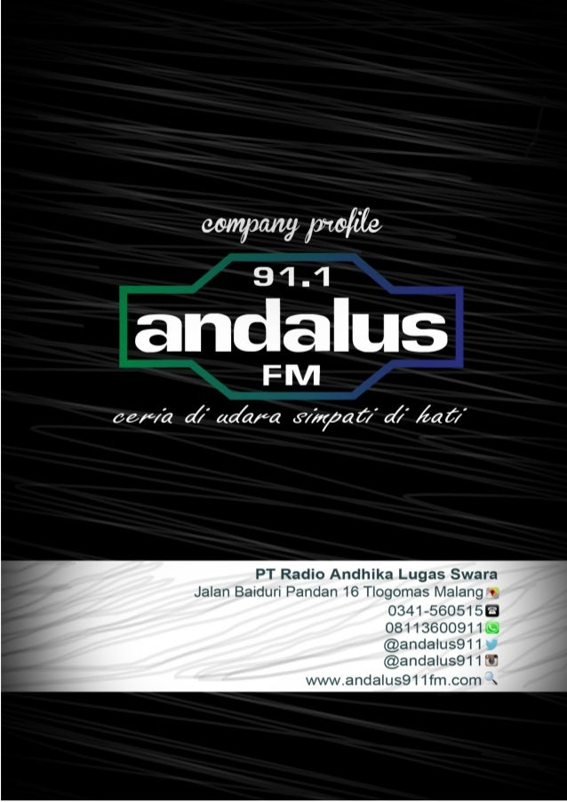 Company profile PT RADIO ANDIKA LUGAS SWARA