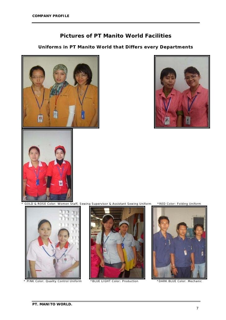 pt  manito world company profile 2009