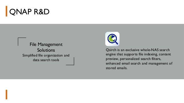 QNAP Company profile 2017