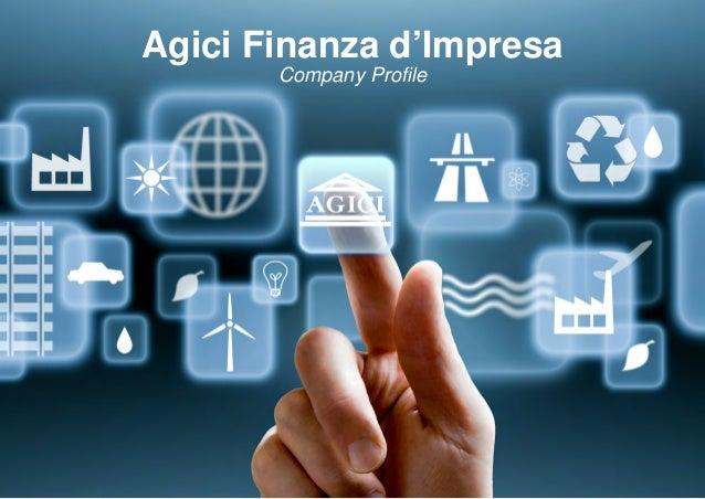 Agici Finanza d'Impresa Company Profile
