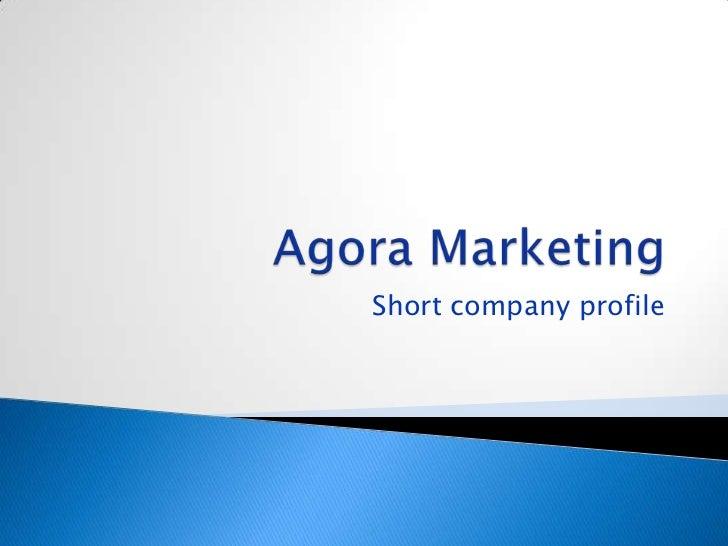 Short company profile