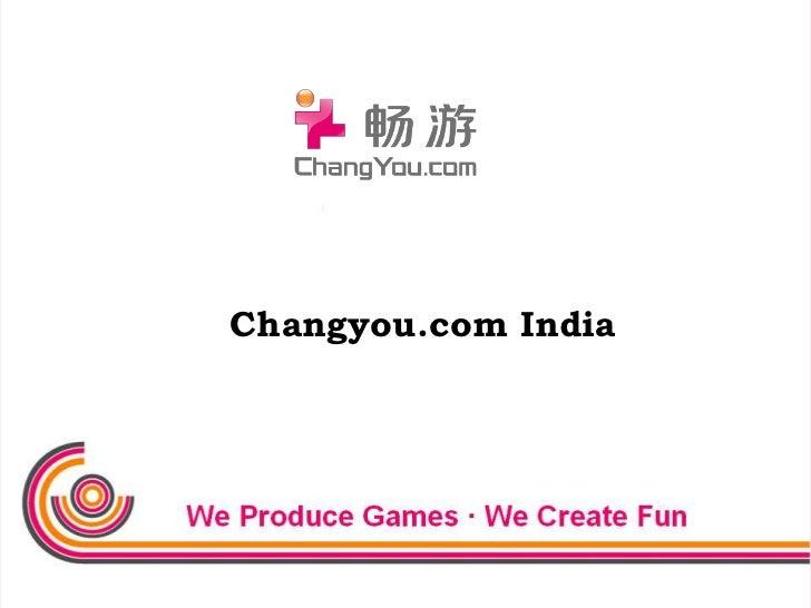 Changyou.com India<br />