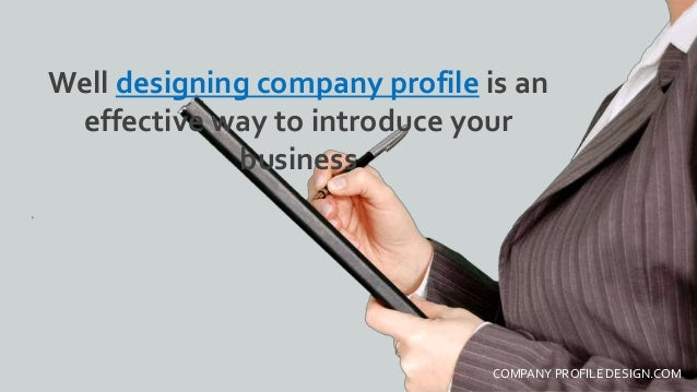 Company Profile Design: Best Practices 2016