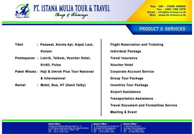 Company Profile Istana Mulia Groups