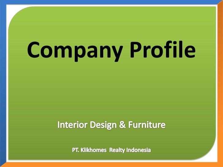 Company Profile Interior