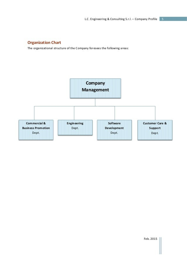 Engineering Consultancy Profile : L c engineering consulting s r