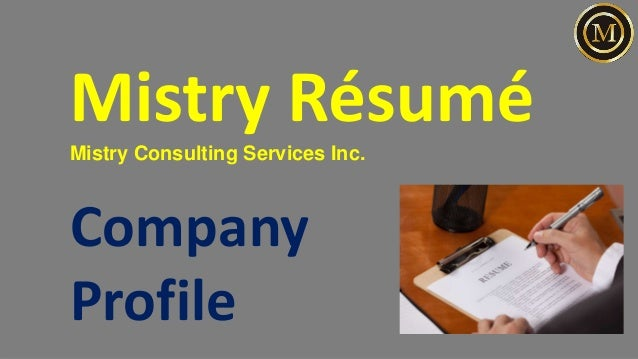 Mistry Consulting Services Inc. Company Profile