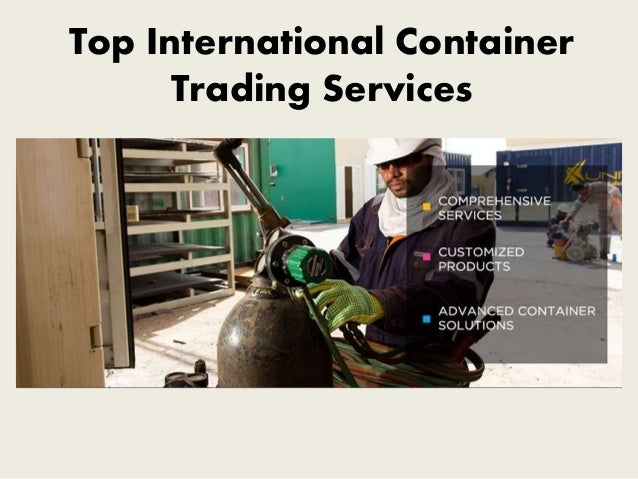 Top International Container Trading Services