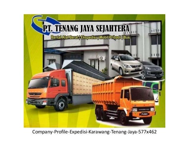 Company Profile Perusahaan Ekspedisi Pt Tenang Jaya Sejahtera