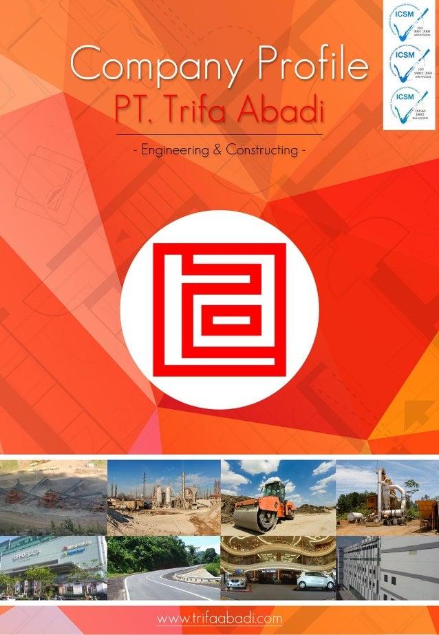 .r'  l 1 ,   > Company Profile     - Engineering & Constructing -  www. lrrii9<: Ibodi. rC@