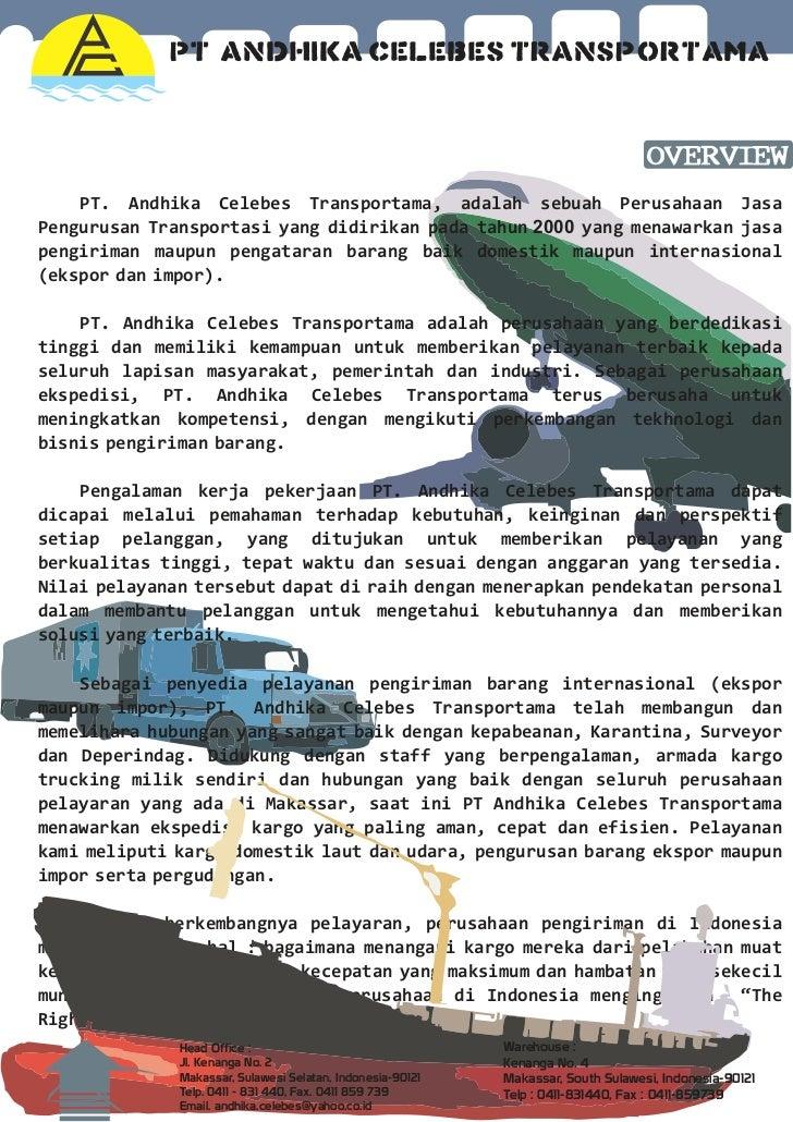 Company Profile Pt Andhika Celebes Transportama