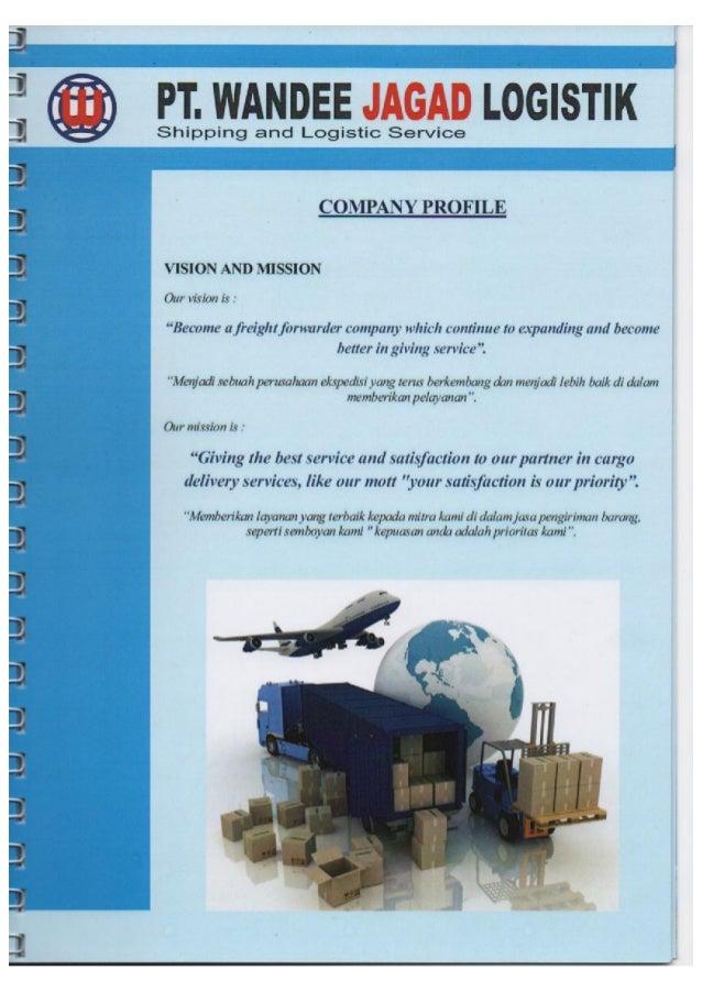 Company Profile Pt Wandee Jagad Logistik