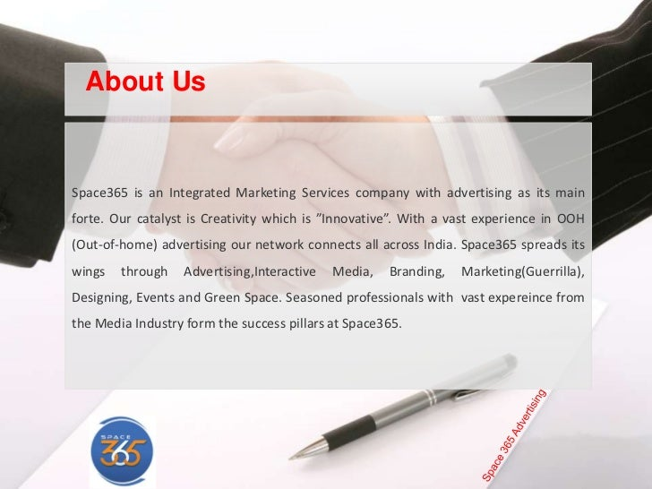 marketing and advertising company profile pdf