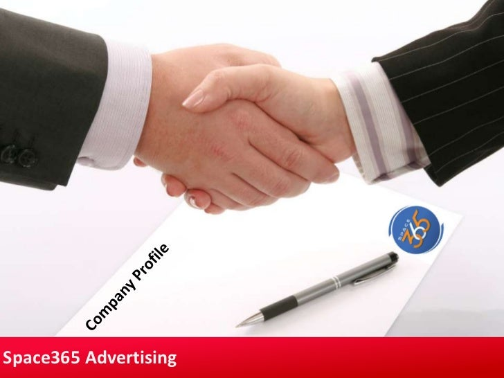 Company Profile<br />Space365 Advertising<br />