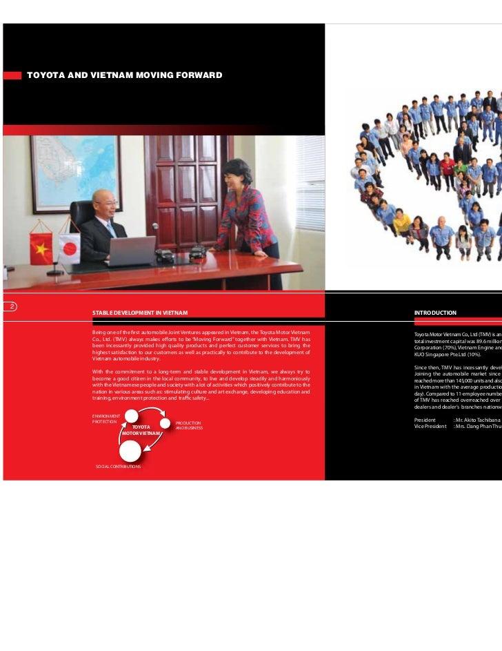 company profile toyota ( t.a)