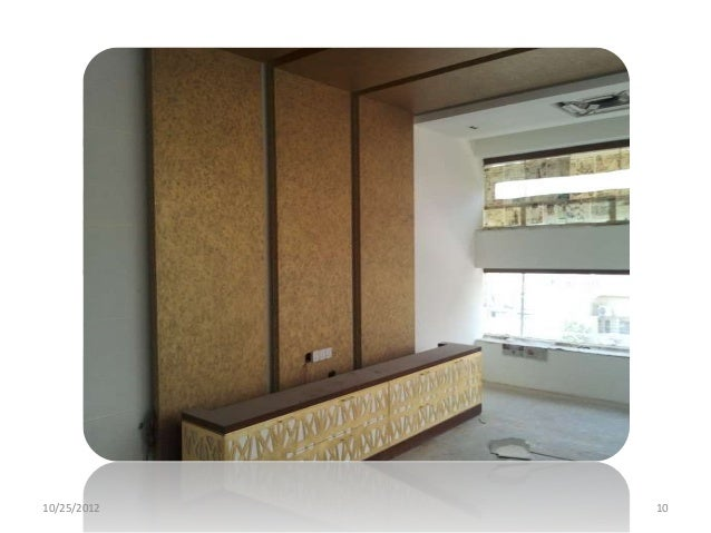 Company profile wall finishes textures for Spaces architects safdarjung