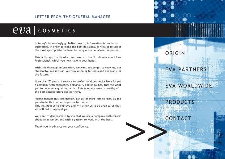 Company Profile Eva Cosmetics