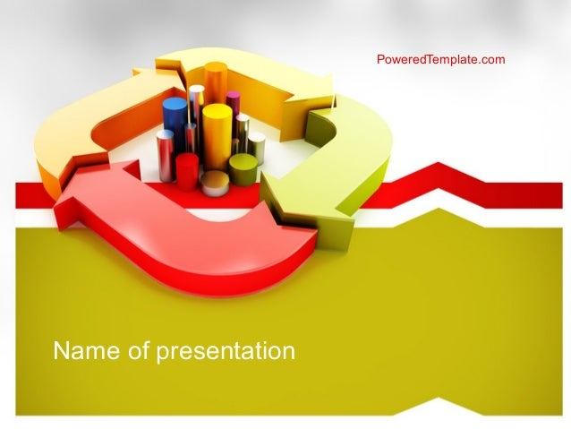 company results powerpoint template by poweredtemplatecom