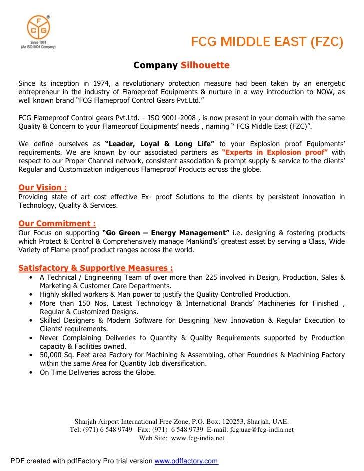 Company silhouette