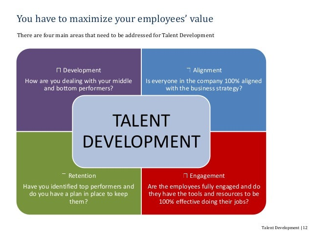 talent development Talent management refers to the anticipation of required human capital for an organization and the planning to meet those needs the field increased in popularity after mckinsey's 1997 research and the 2001 book on the war for talent talent management in this context does not refer to the management of entertainers.