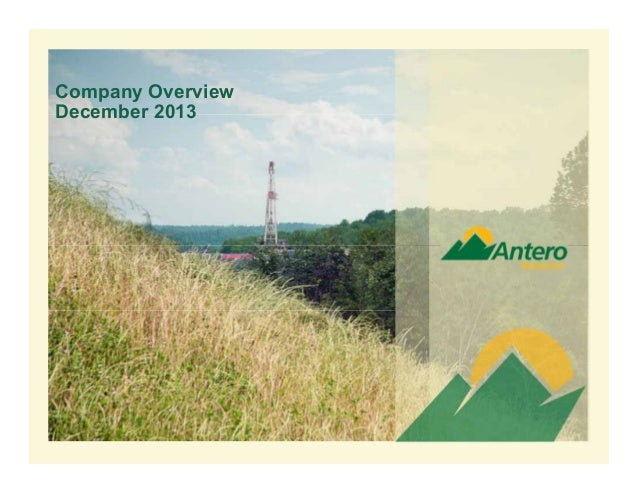 Company Overview December 2013