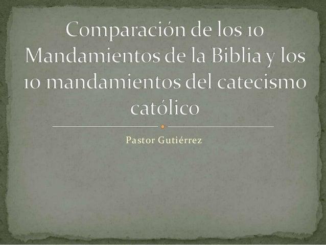 Pastor Gutiérrez