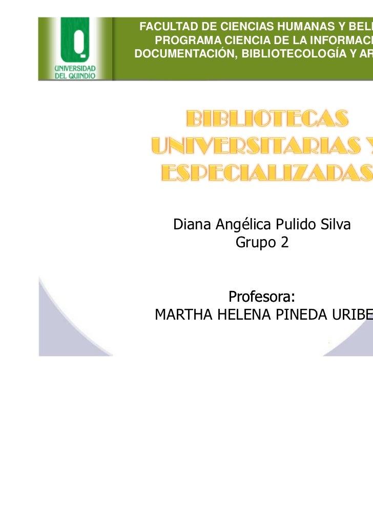 FACULTAD DE CIENCIAS HUMANAS Y BELLAS ARTES   PROGRAMA CIENCIA DE LA INFORMACIÓN Y LADOCUMENTACIÓN, BIBLIOTECOLOGÍA Y ARCH...