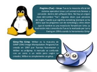 Diferencias y comparaciones de Software Libre - Fauna utilizada en So…