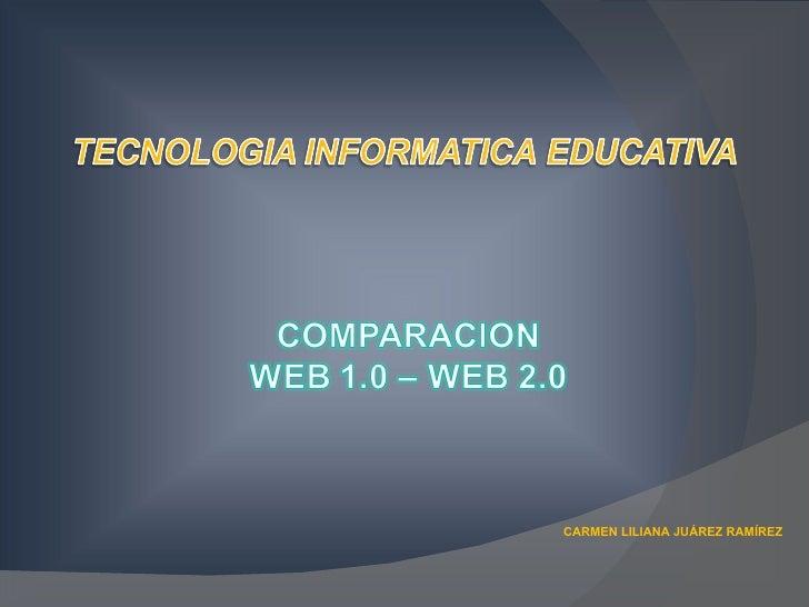 CARMEN LILIANA JUÁREZ RAMÍREZ