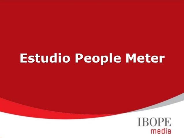 Estudio People Meter