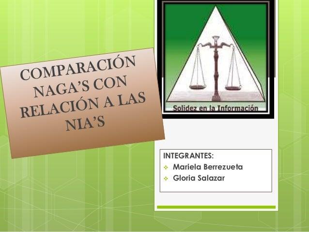 INTEGRANTES: Mariela Berrezueta Gloria Salazar