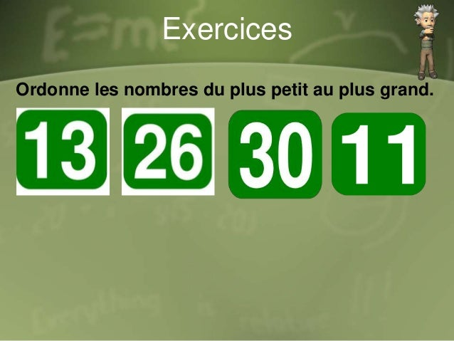 Exercices Relie la signe au bon place 6 …… 8 7 …… 9 2 …… 1 > <<