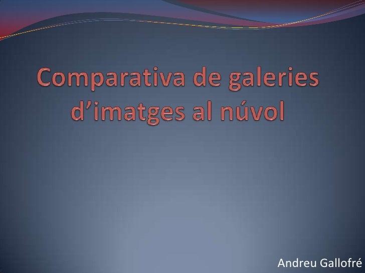 Andreu Gallofré