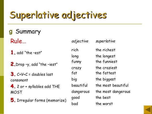 Comparative superlative-1