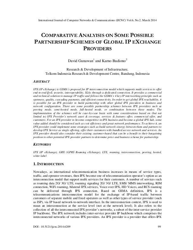 International Journal of Computer Networks & Communications (IJCNC) Vol.6, No.2, March 2014 DOI : 10.5121/ijcnc.2014.6209 ...