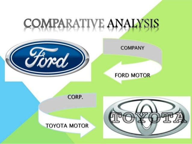 a comparative analysis of toyota and His area of research is multibody dynamics, with principal application to the analysis and design of vehicles, mechatronic devices, biomechanical systems, and sports equipment he was the executive director of the waterloo centre for automotive research until 2009, when he became the nserc/toyota/maplesoft industrial research chair.