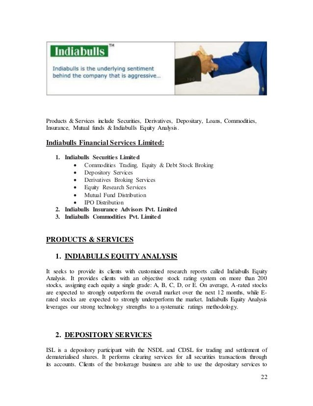 indiabulls research project