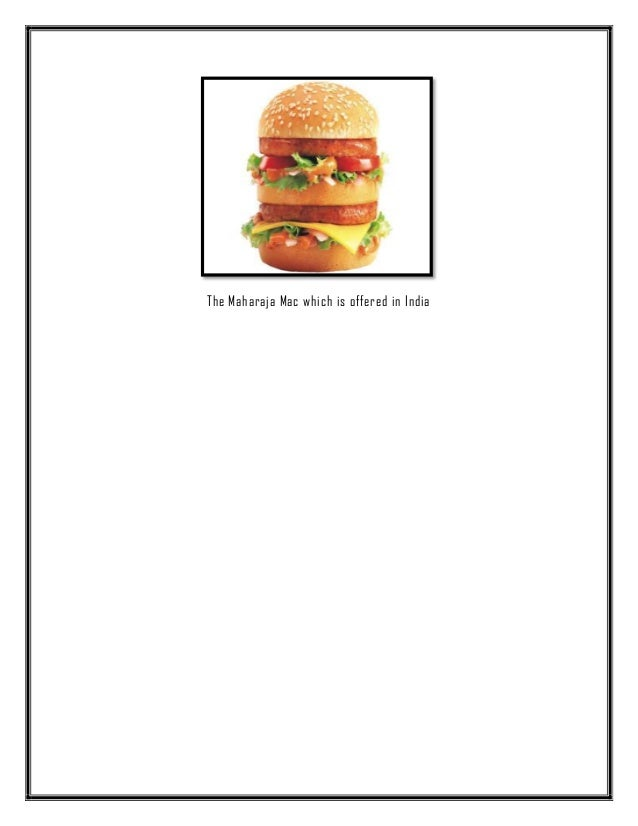 an overview of the mcdonalds redesign of the restaurant model in the united states The nike company-overview  from fashion united :  [strategic marketing plan of nike] page 27 marketing-mix-nike.