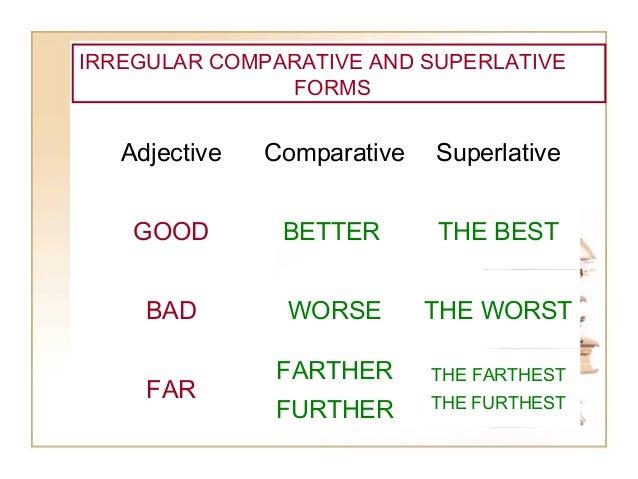 Comparative and superlative (fil eminimizer)