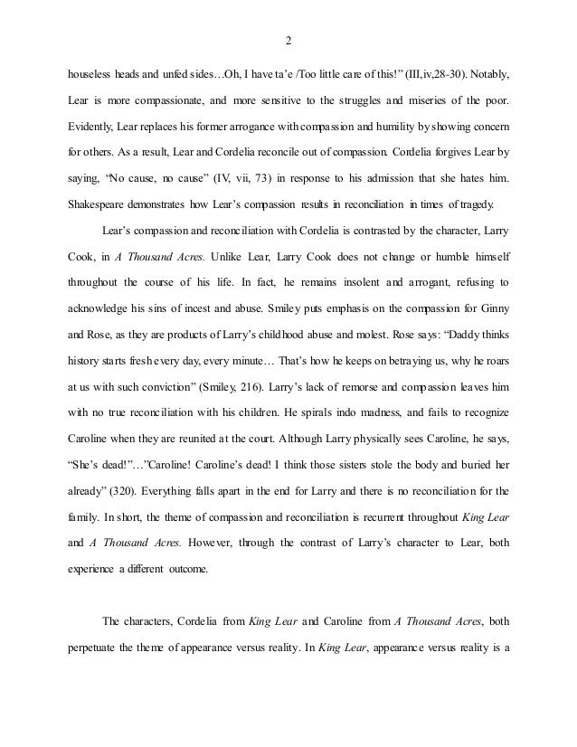 king lear and cordelia essay Read this essay on cordelia in king lear come browse our large digital warehouse of free sample essays get the knowledge you need in order to pass your classes and.