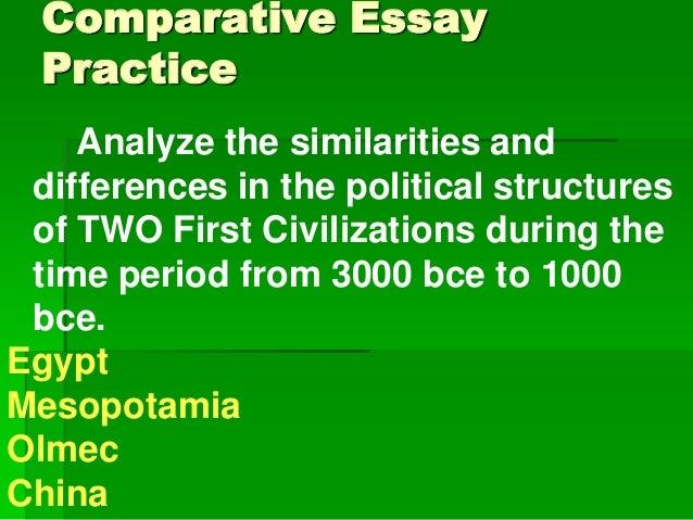 Comparative politics essay