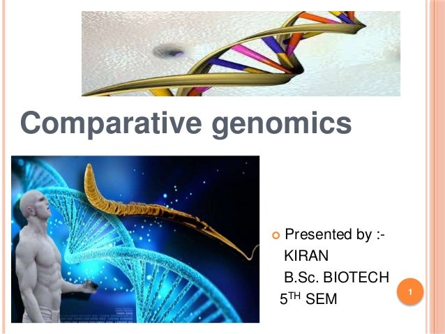 comparative genomics