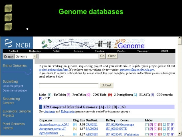 comparative genomics   sid 2003 format