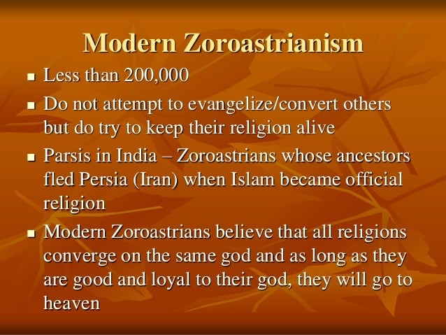 View Of Human Nature Shinto And Zoroastrianism