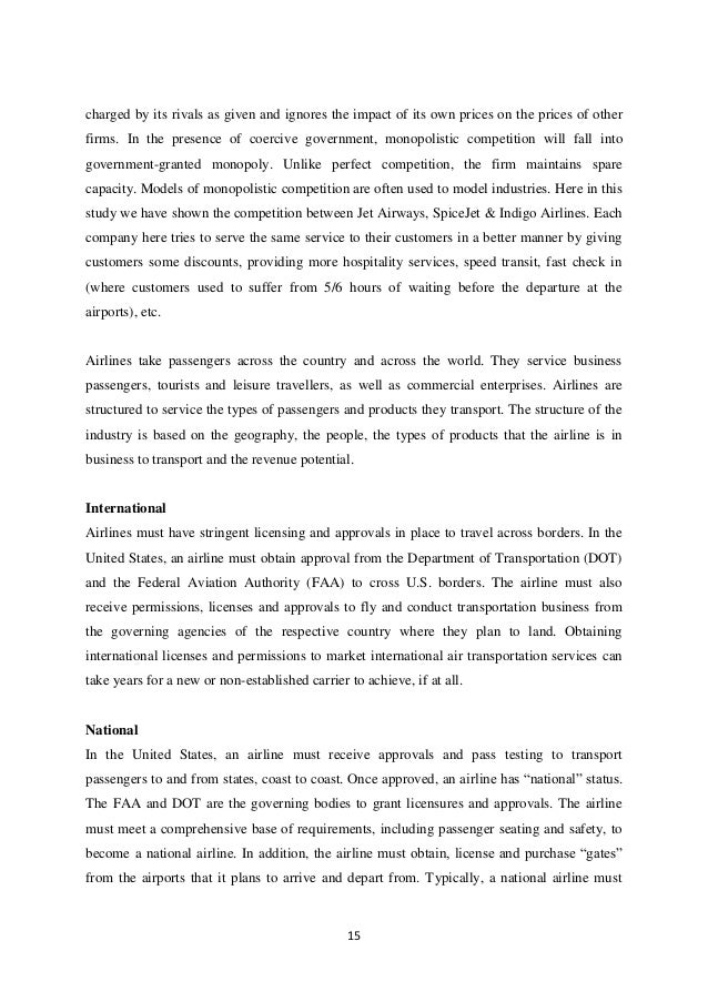 airline industry essay 18 Home essay samples airline industry value chain analysis every organization has three main strategies that it applies to business these include the information strategy, the organizational strategy and the business strategy.