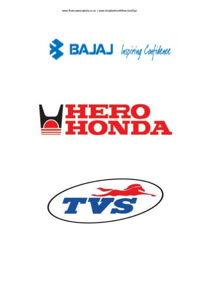 customer satification of herohond A study on consumer satisfaction of two wheeler bikes  customer satisfaction though it is a very subjective  hero, bajaj and honda bike owners are.